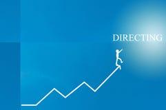 directing Stock Afbeelding