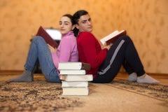Direction, éducation et développement des qualifications de la vie Concept d'étude de livre de la connaissance d'éducation de dév Photo stock