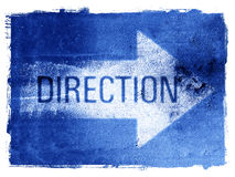 Direction Arrow Royalty Free Stock Images