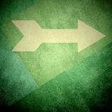 Direction arrow sign right background Stock Photos