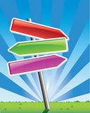 Direction arrows Stock Photography