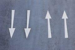 Direction arrows Stock Photos