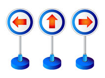 Direction boards Royalty Free Stock Images