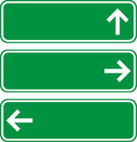 Direction boards Stock Image