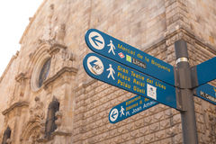 Direction in the city Royalty Free Stock Images