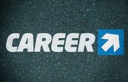 Direction de carrière Images stock