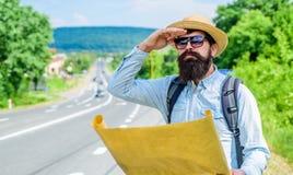Direction de course d'orientation de regard de carte de randonneur d'Expeditor Carte topographique de course d'orientation Expedi photo stock