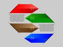 Direction de flèches dans les affaires Image stock