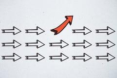 Direction et concept de choix illustration de vecteur
