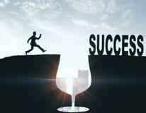 Direction et concept de succès Photos stock