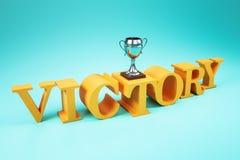 Direction et concept de victoire illustration stock