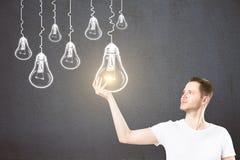 Direction, idée et concept de succès image stock