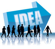 Direction - Idea Royalty Free Stock Photo