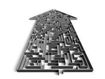 Direction maze Stock Image