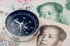 Free Direction Of China Financial And Economy Trade War, New Emerging Stock Image - 114100141