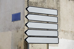 Direction sign Stock Photography