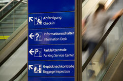 Direction Sign Royalty Free Stock Photography