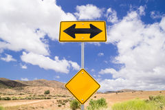 Direction sign. Stock Image