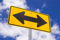 Direction sign. Royalty Free Stock Photography