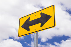 Direction sign. Stock Photography