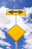 Direction sign. Royalty Free Stock Photo