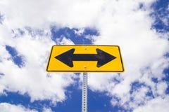 Direction sign. Stock Photos