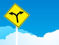 The direction sign Royalty Free Stock Photo