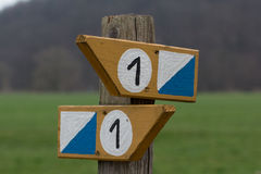 Direction sign Stock Images