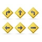 Direction signage Stock Photos