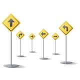 Direction signage Stock Photo