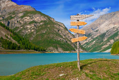 Direction signpost Stock Photo