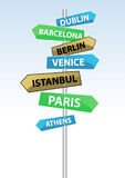 Direction Signs Stock Images