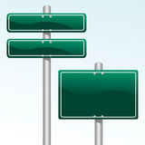 Direction Signs stock illustration