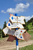 Direction signs Stock Photos