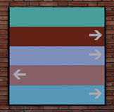Direction signs Royalty Free Stock Photo
