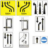 Direction Signs in Austria Stock Photography
