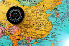 Direction to China. Royalty Free Stock Photos