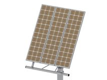 Directional antenna solar panels Royalty Free Stock Images