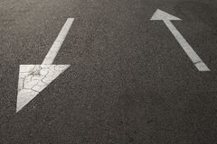 directional arrow signs Stock Images