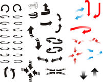 Directional Arrows Stock Image