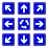 Directional Arrows Royalty Free Stock Images