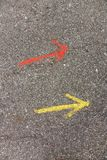 Directional arrows Royalty Free Stock Photography