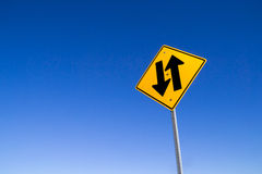 Directional arrows. royalty free stock photo