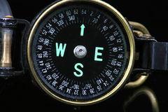 Directional device. Compass Royalty Free Stock Photography