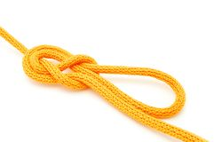 Directional Figure Eight knot Royalty Free Stock Image