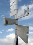 Directional marker Royalty Free Stock Images