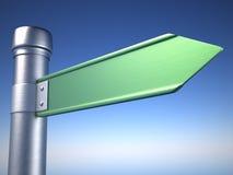Directional sign Stock Photos