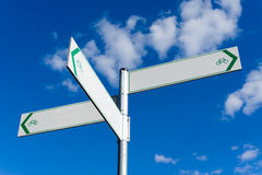 Directional Sign Royalty Free Stock Image