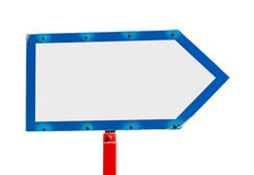 Directional sign Stock Photography
