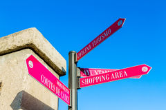 Directional Sign Royalty Free Stock Photos